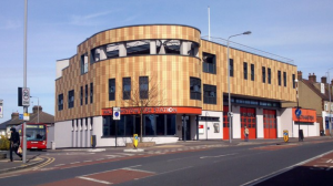 an image of the Walthamstow fire station