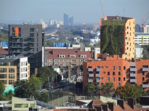 an image of the Hackney skyline