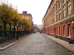 an image of a street in Stoke Newington